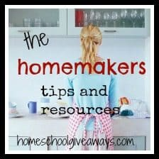 free homemaker tips and resources