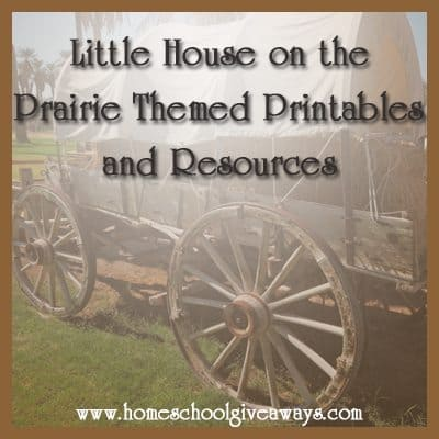 Free Themed Printables And Resources For Little House On The