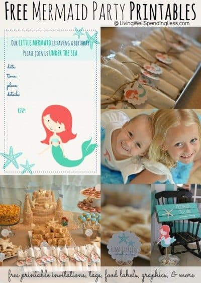 Free-Mermaid-Party-Printables-cute-printable-invitations-tags-food-labels-graphics-more-730x1024