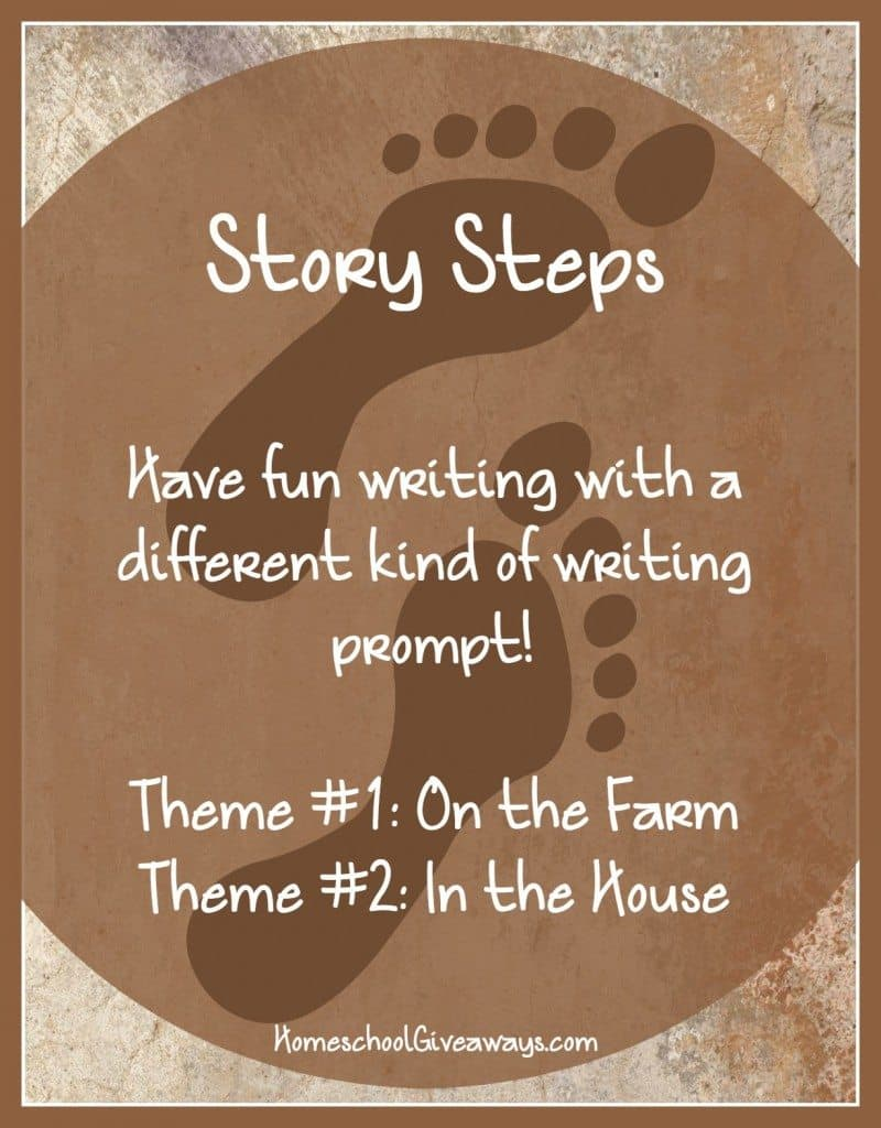 Writing Prompts-Story Steps On the Farm and In the House