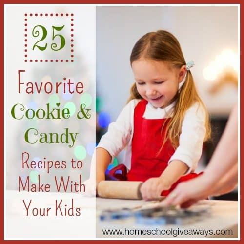 25 Favorite Cookie & Candy Recipes to Make With Your Kids