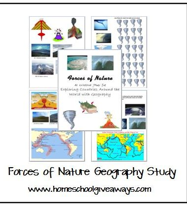 Forces of Nature Geography Series by sproutingtadpoles1