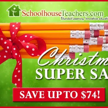 Schoolhouse Teachers Super Sale