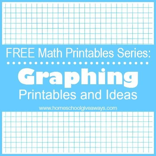 FREE Math Printables Series: Graphing Printables and Ideas ...