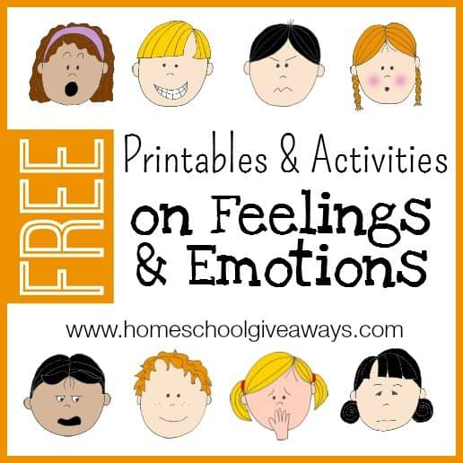 FREE Printables and Activities on Feelings and Emotions ...