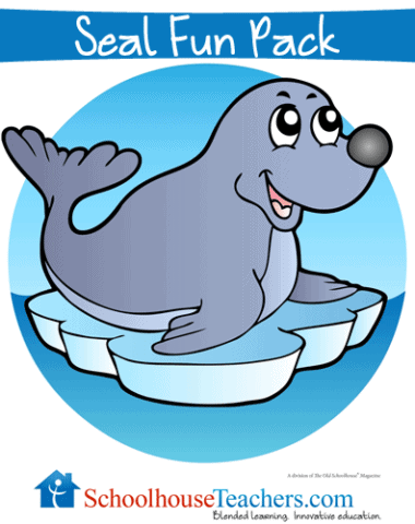 Seal Fun Pack Free Homeschool Printable