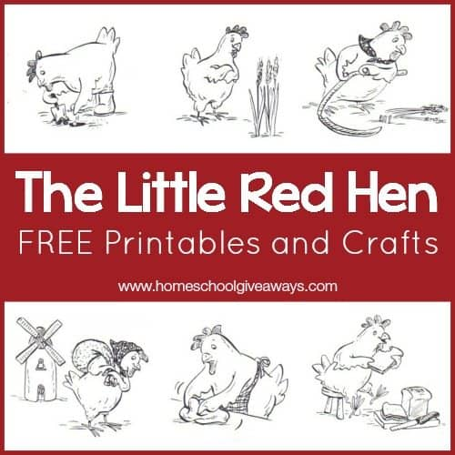 - The Little Red Hen FREE Printables And Crafts! - Homeschool Giveaways
