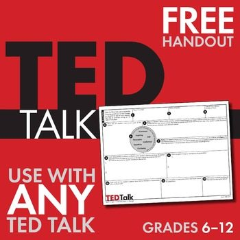 FREE Public Speaking Worksheets www.homeschoolgiveaways.com Grab these free worksheets to use while watching TED talks, and teach your children about Public Speaking!