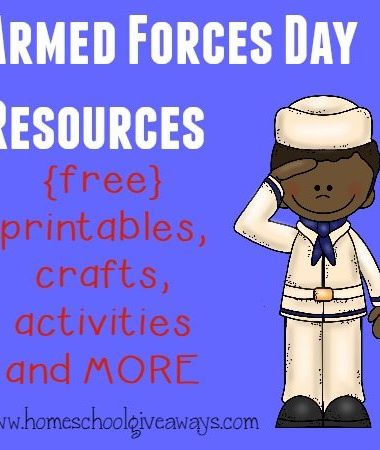 Celebrate those who choose to serve and protect our country this Armed Forces Day with these fun resources. :: www.homeschoolgiveaways.com