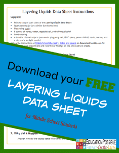 FREE Chemistry Printable www.homeschoolgiveawys.com Download a free chemistry printable worksheet!