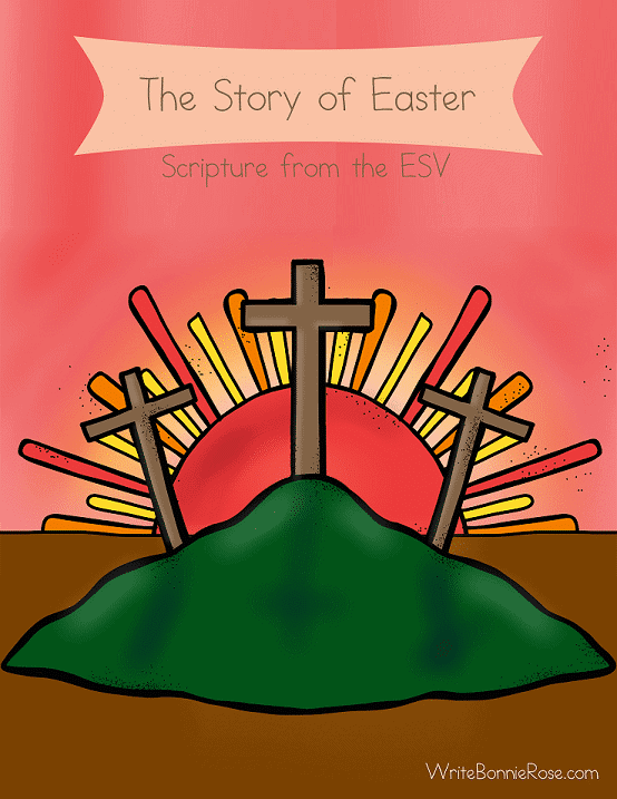FREE The Story of Easter Handwriting Practice