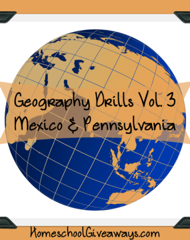 Free Geography Drills Volume 3 - Mexico and Pennsylvania