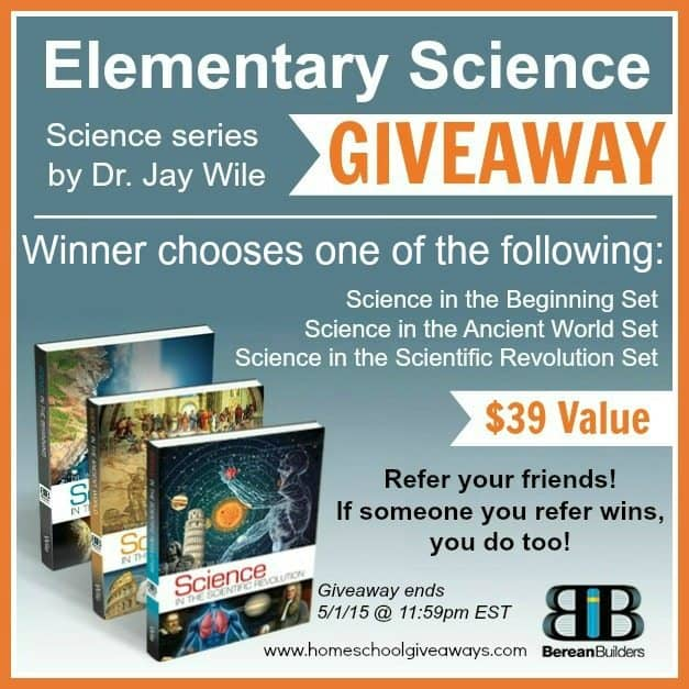 Jay Wile giveaway (1)