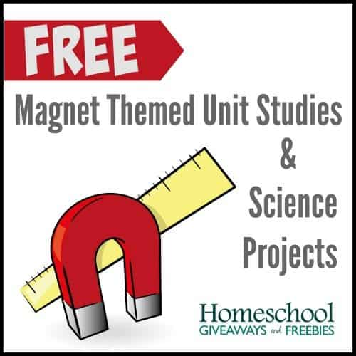 Magnet Themed Unit Studies and Science Projects