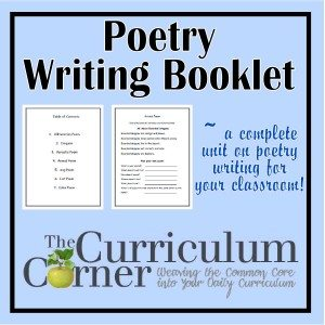 FREE Poetry Unit www.homeschoolgiveaways.com Grab this free poetry unit to help teach your studenst about sinquains, alliteration, and more!