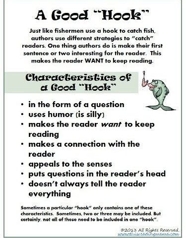 A Simple Writing Strategy PLUS FREE A Good Hook Download www.homeschoolgiveaways.com Develop writing skills in your younger learners with this lesson and free download!