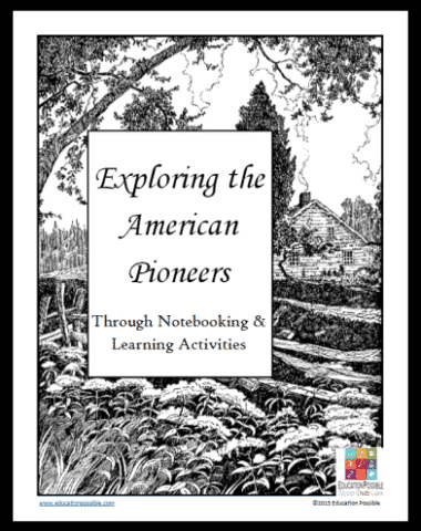 FREE Pioneers Notebooking Unit www.homeschoolgiveaways.com Grab this free notebooking unit on Pioneers to add to your homeschool history studies!