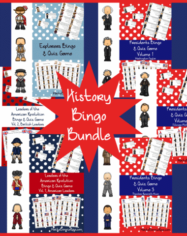 History Bingo Bundle on Sale