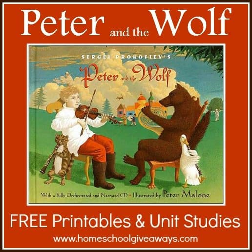Peter and the Wolf FREE Printables and Unit Studies ...