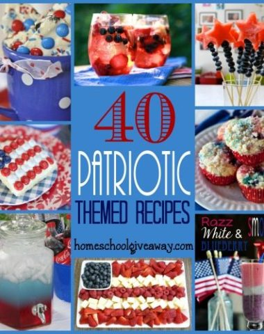 The Fourth of July is quickly approaching. Throw a fabulous party with these great food ideas!! :: homeschoolgiveaways.com