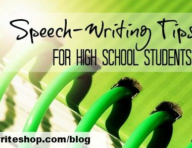 FREE Speech-Writing Tips for High School Students www.homeschoolgiveaways.com Find FREE tips for speech-writing for high schoolers!