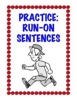 FREE Run-On Sentence Worksheet www.homeschoolgiveaways.com Help your children learn how to identify and correct run-on sentences!