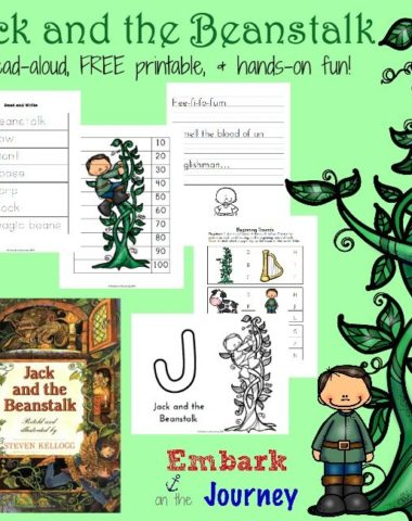 Free Jack and the Beanstalk Printable