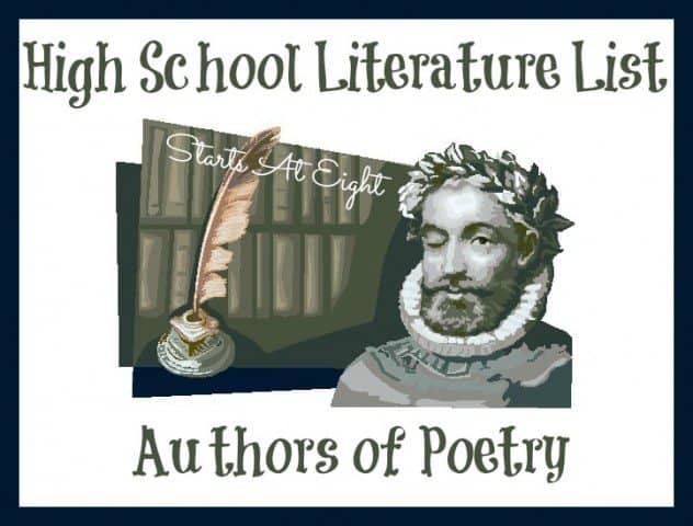 High-School-Literature-List-Authors-of-Poetry-632x480