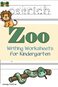 Zoo-Writing-Worksheets-for-Kindergarten-pin