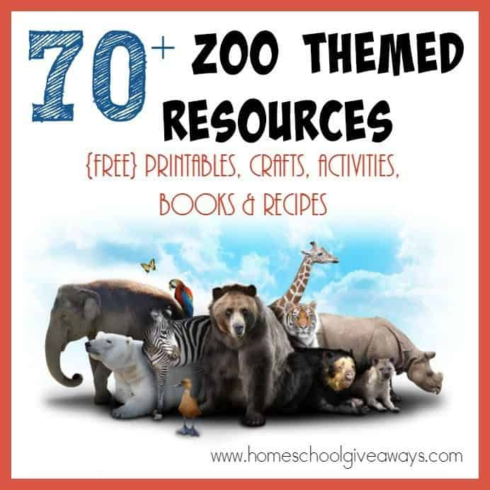 Taking a trip to the Zoo? Check out this HUGE list of resources to make the most of your trip! {free} printables, crafts, activities, recipes & MORE! :: www.homeschoolgiveaways.com