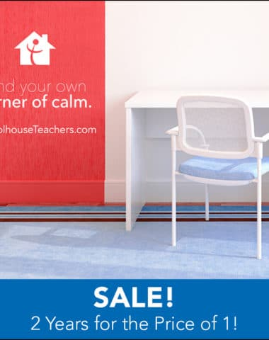 Schoolhouse Teachers Back to School Sale