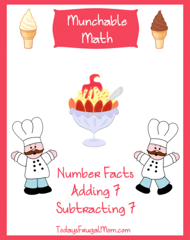 Munchable Math on Todays Frugal Mom-Ice Cream