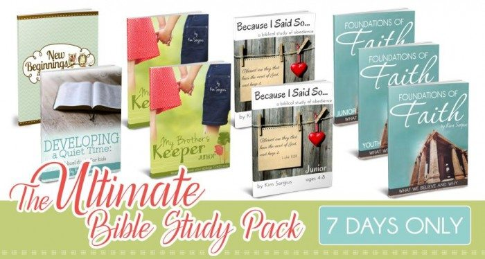 The Ultimate Bible Study Pack
