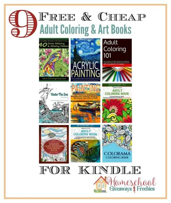 More FREE and Cheap Adult Coloring Books for Kindle ...