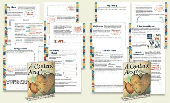 A content heart FB pages