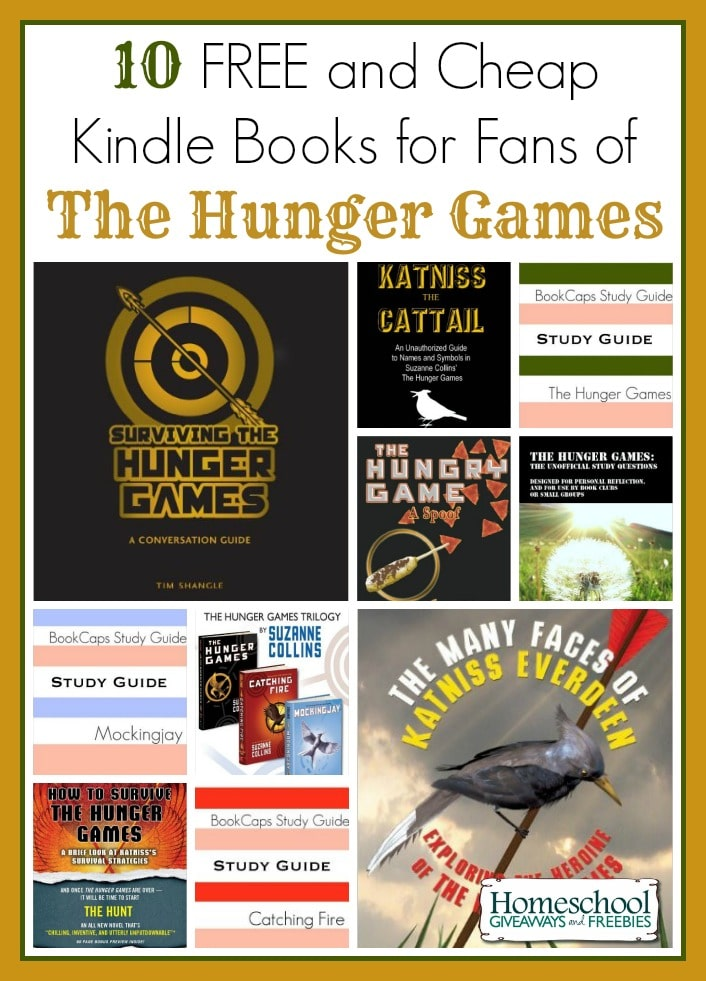 10 Free And Cheap Kindle Books For Fans Of The Hunger Games