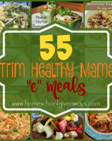 "If you're looking to loose weight, but don't want to sacrifice taste, check out these Trim Healthy Mama ""E"" Meals! :: www.homeschoolgiveaways.com"