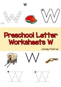 """Teaching the letter """"W"""" just got easier! Check out all these {free} printables, crafts, activities, books & recipes to make learning the letter fun and successful! :: www.homeschoolgiveaways.com"""