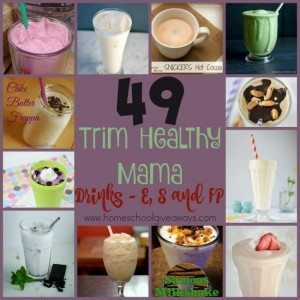 One of the best parts of the THM lifestyle is that you don't have to give up delicious foods - smoothies and milkshakes - just adjust them. Check out these 49 different recipes! :: www.homeschoolgiveaways.com