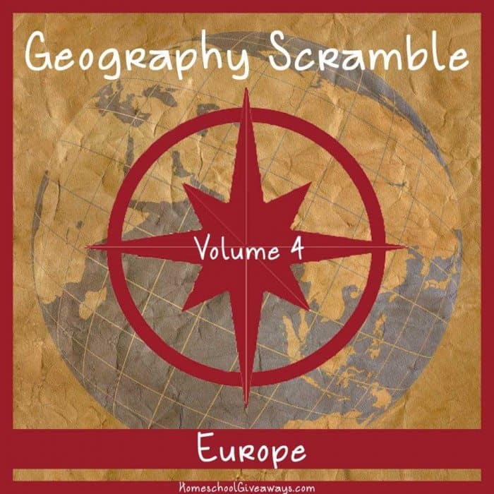 Geography Scramble Vol 4 Europe