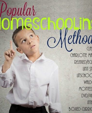 Homeschooling can be intimidating when trying to figure out which method to use. Here we explain the popular homeschooling methods to help you make the right choice. :: www.homeschoolgiveaways.com