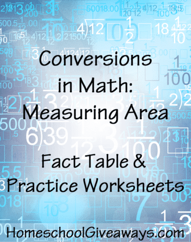 Conversions in Math-Measuring Area