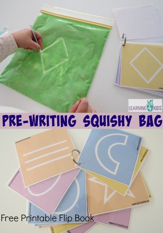 free-Printable-Flip-Book-to-use-with-Pre-writing-squishy-bag
