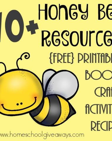 Honeybees are fascinating creatures and now you can learn all about them with this HUGE list of resources!! :: www.homeschoolgiveaways.com