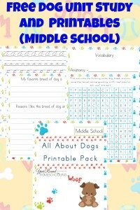If you're studying Dogs this year, or mammals, don't miss these great resources. Includes printables, books, crafts, activities & recipes. :: www.homeschoolgiveaways.com