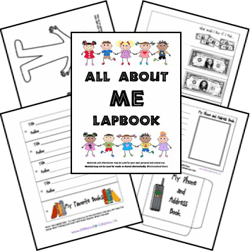 all_about_me_lapbook