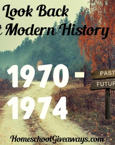 A Look Back at Modern History 1970-1974