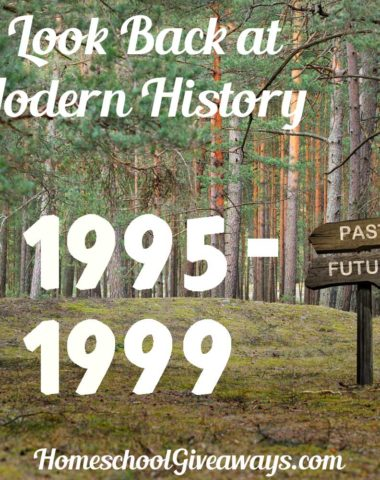 A Look Back at Modern History 1995-1999