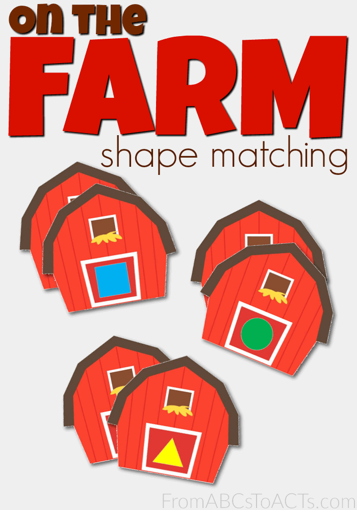 Farm-Barn-Themed-Shape-Matching-Cards-for-Toddlers-and-Preschoolers