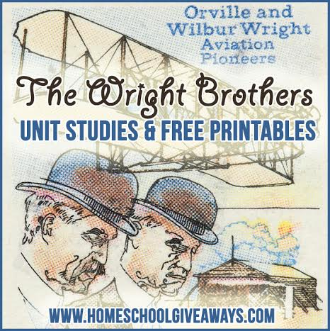 The Wright Brothers Unit Studies And Free Printables Homeschool Giveaways